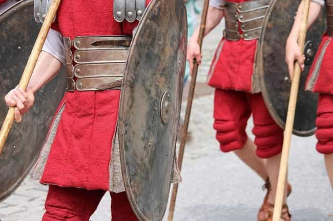 Roman Soldiers Were Rationed W... is listed (or ranked) 3 on the list 10 Fierce Fighting Forces Throughout History That Were Insanely High on Drugs