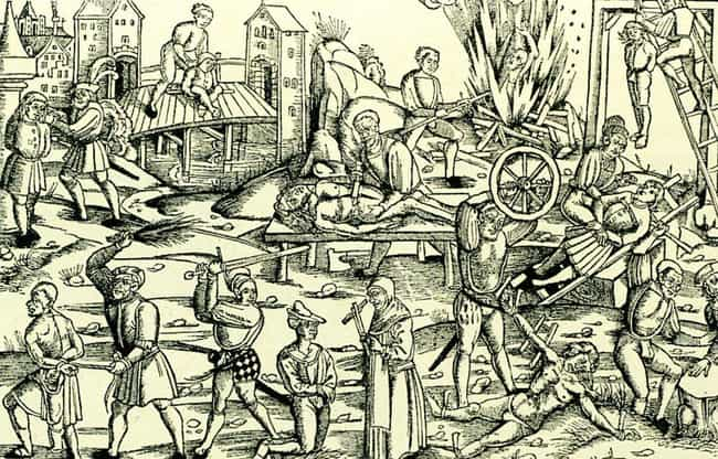 25 Gruesome Historical Depictions of Torture