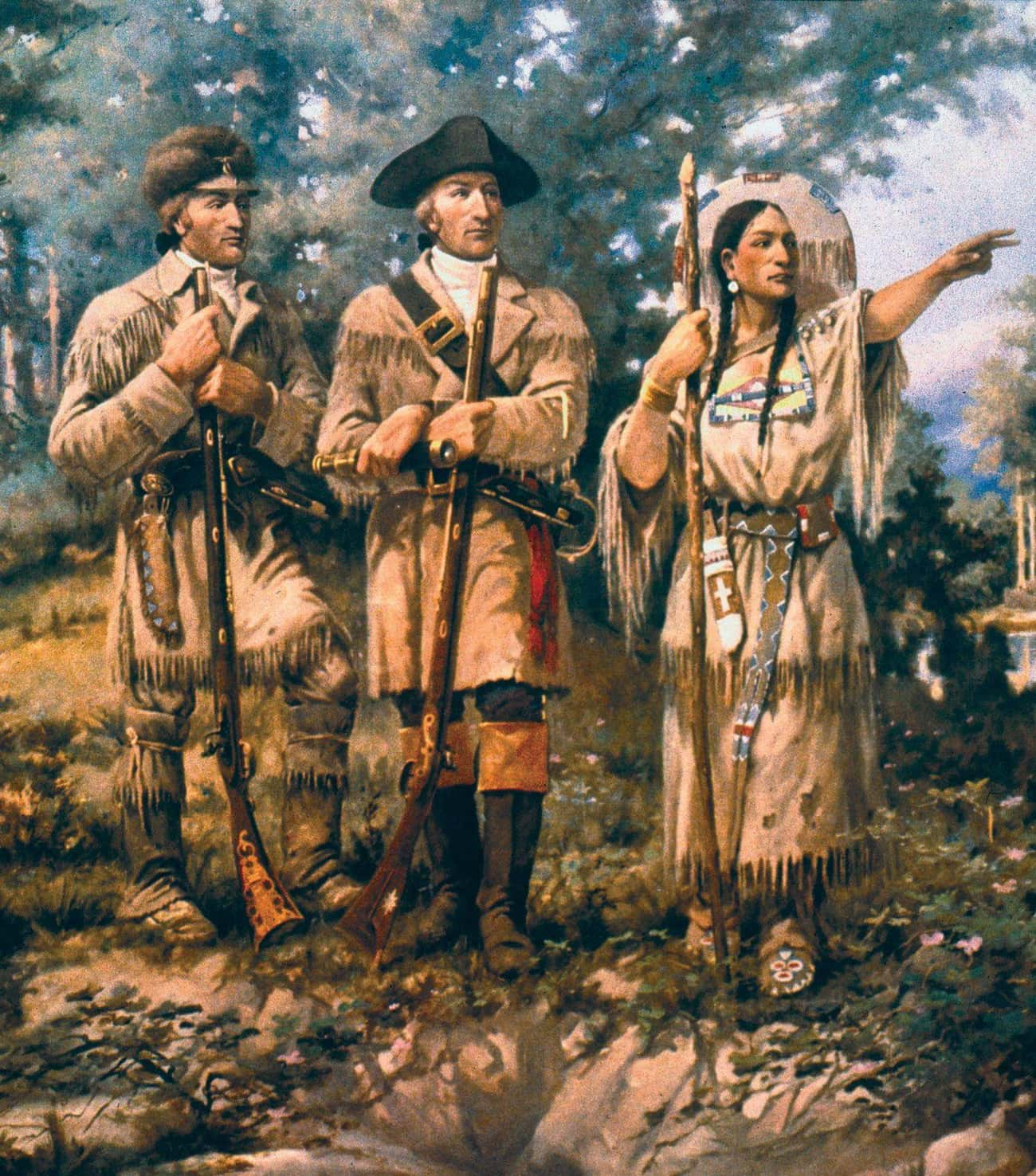 She was Kidnapped and Married  is listed (or ranked) 2 on the list 10 Facts About the Bold, Brave Life of Sacagawea