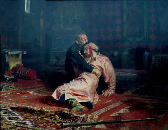 When He Killed His Son ... is listed (or ranked) 1 on the list 12 Times Ivan the Terrible Did Something Really Regrettable