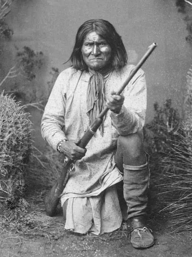 It Was a Mexican Raid That Set... is listed (or ranked) 1 on the list 11 Facts About The Life Of Geronimo