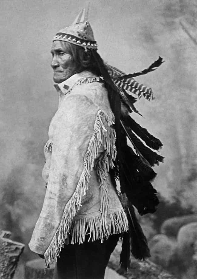 Geronimo Was Shot in the Face ... is listed (or ranked) 4 on the list 11 Facts About The Life Of Geronimo