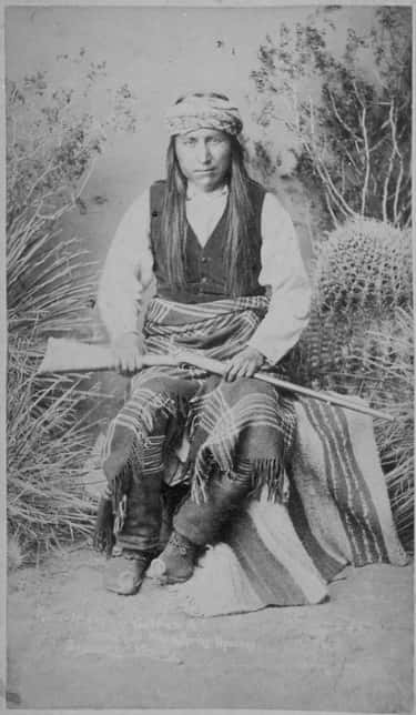 With Only Three Other Warriors, Geronimo Secured Enough Supplies to Last His Tribe a Year