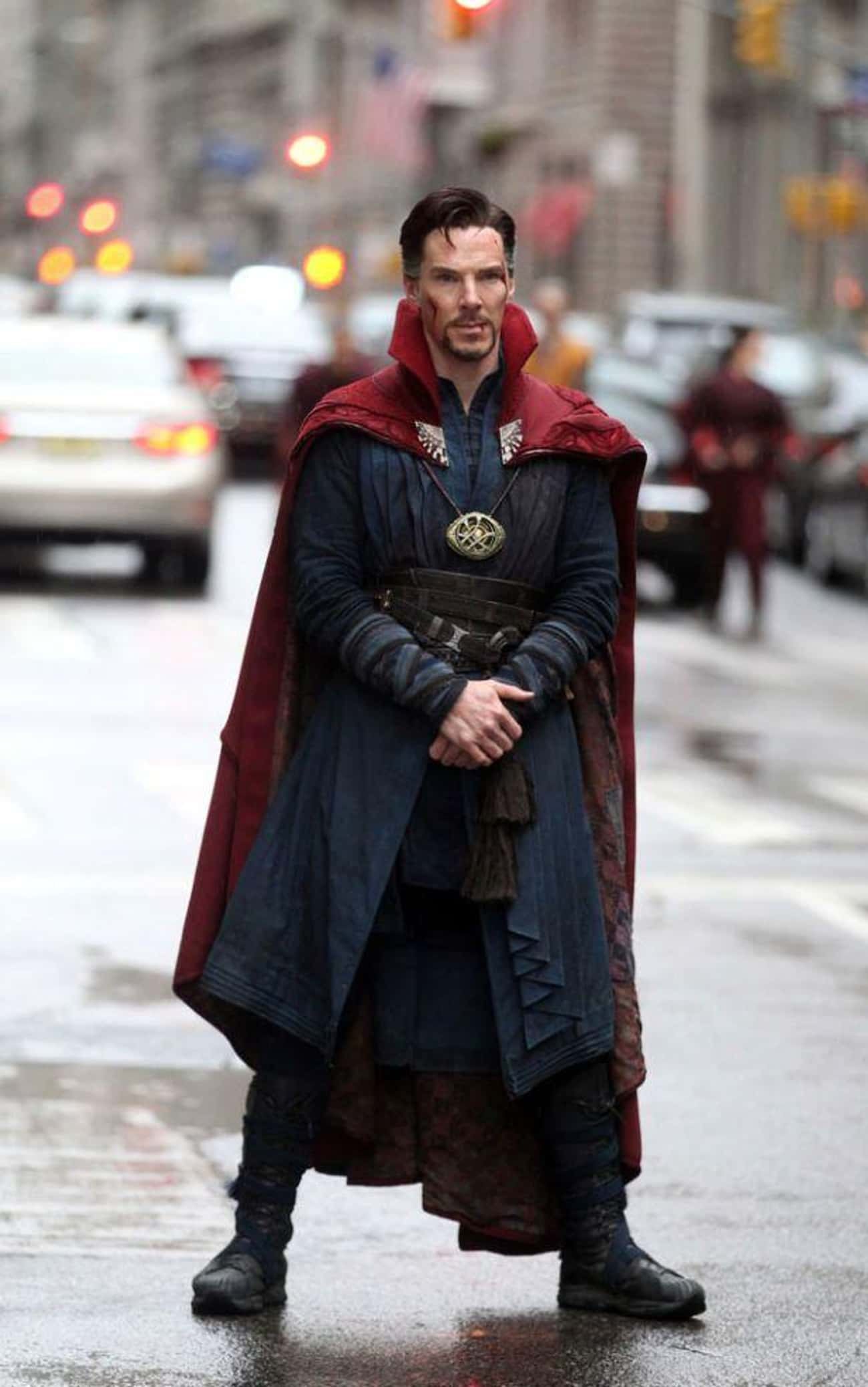 Doctor Strange — Doctor Strang is listed (or ranked) 3 on the list The Best Marvel Costume Adaptations Ever