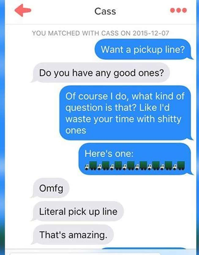 Behold: The Literal Pick-Up Li is listed (or ranked) 5 on the list 28 People Who Won at Tinder and at Life