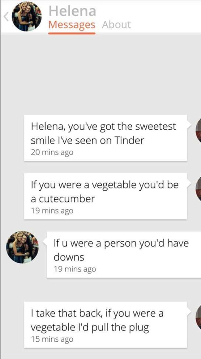 Best Clapback Ever is listed (or ranked) 7 on the list 28 People Who Won at Tinder and at Life