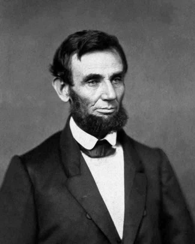 Abraham Lincoln Had a Ridiculo... is listed (or ranked) 1 on the list 13 Facts About Past Presidential Candidates That Would Sink Their Campaigns Now