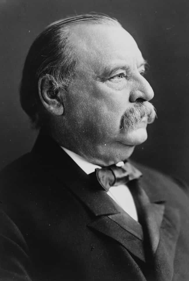 Grover Cleveland Married His F... is listed (or ranked) 2 on the list 13 Facts About Past Presidential Candidates That Would Sink Their Campaigns Now