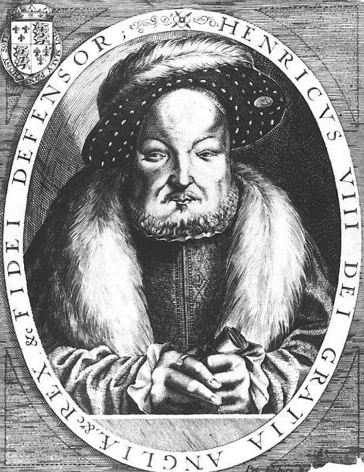 King Henry VIII by Peter Isselburg and Cornelis Metsys, 1646