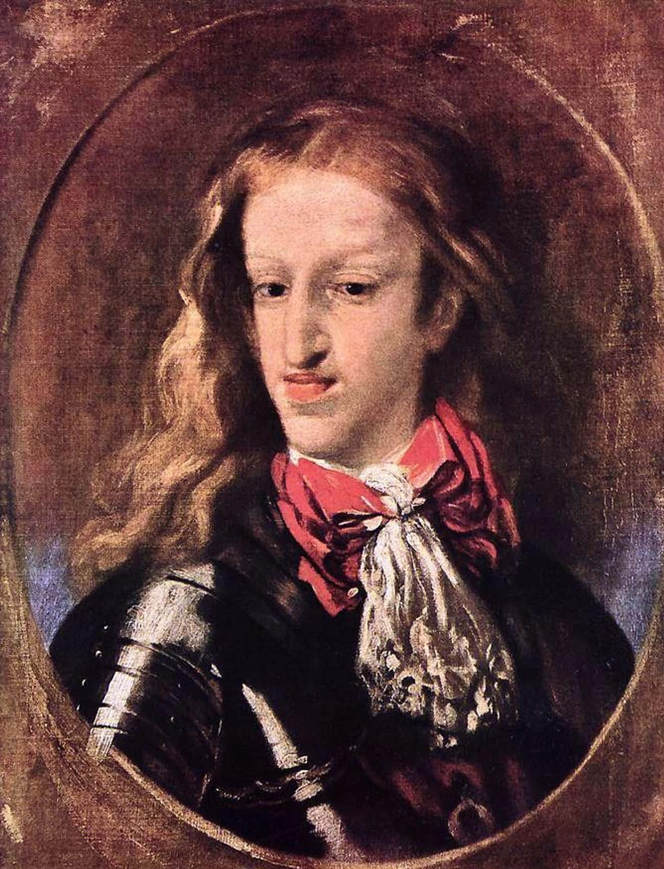 King Charles II of Spain by Lu is listed (or ranked) 3 on the list 26 of the Most Heinously Unflattering Royal Portraits in History