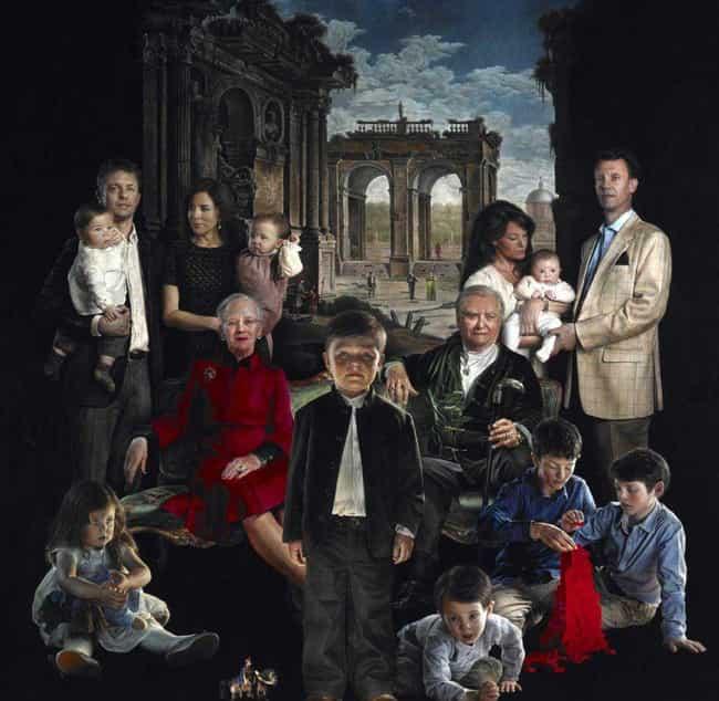 Danish Royal Family by Thomas Kluge, 2013