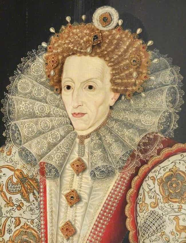 Queen Elizabeth I of England by an Unknown Artist, 16th Century