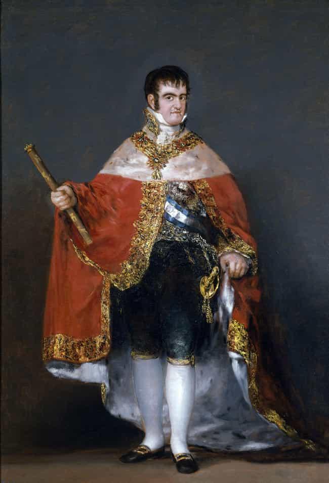 King Ferdinand VII of Spain by Francisco Goya, 1815
