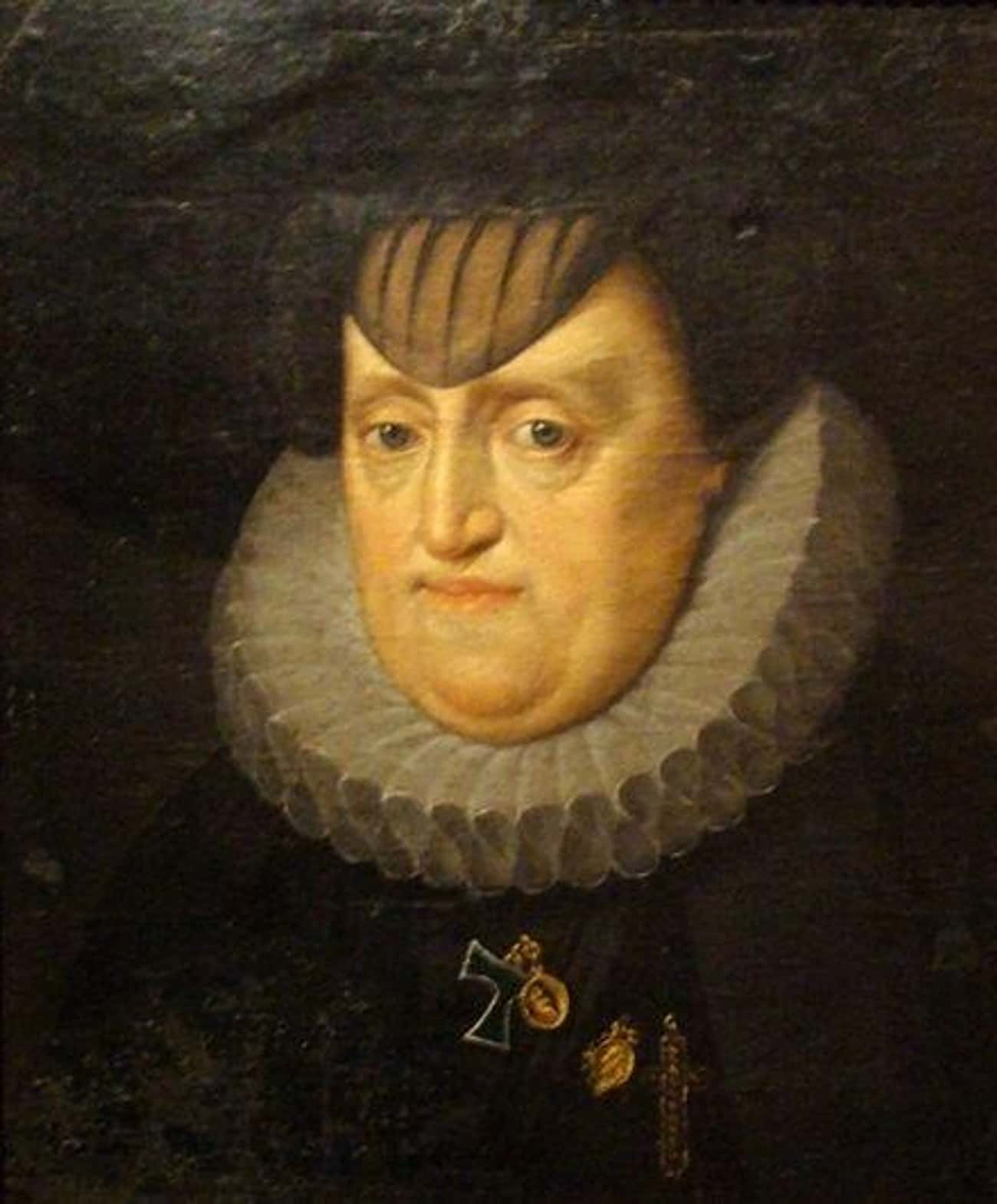 Archduchess Maria Anna of Bava is listed (or ranked) 2 on the list 26 of the Most Heinously Unflattering Royal Portraits in History