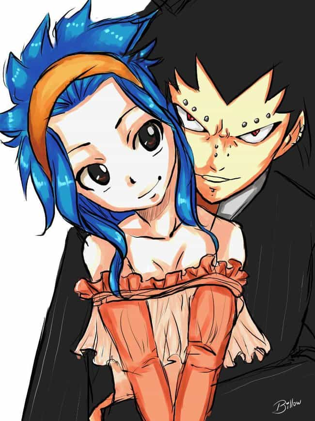 Levy and Gajeel is listed (or ranked) 3 on the list The Cutest Anime Couples of All Time