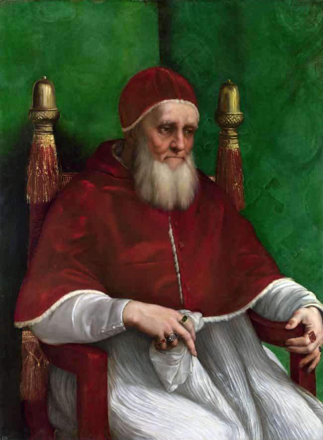 Pope Julius II Was 'Covered Wi... is listed (or ranked) 3 on the list 10 Popes Who Didn't Take Celibacy Very Seriously