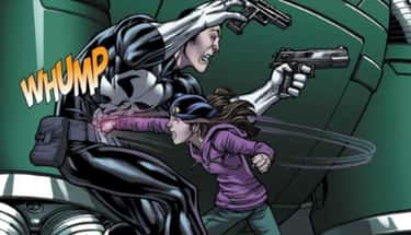 When an 11-Year-Old Girl Gut P is listed (or ranked) 6 on the list 14 Times the Punisher Had His Rear Handed to Him