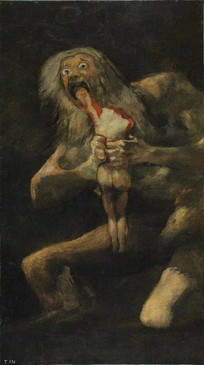 Cronus, Who Ate (And Reg... is listed (or ranked) 1 on the list 11 Cannibals From Mythology Around The World