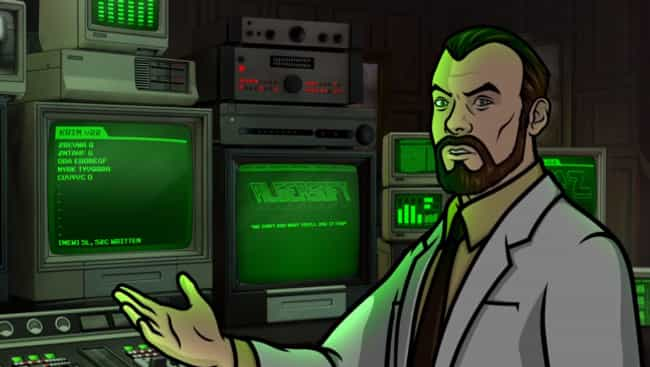 Archer Takes Place in a ... is listed (or ranked) 5 on the list 17 Crazy Archer Fan Theories That Just Might Be True