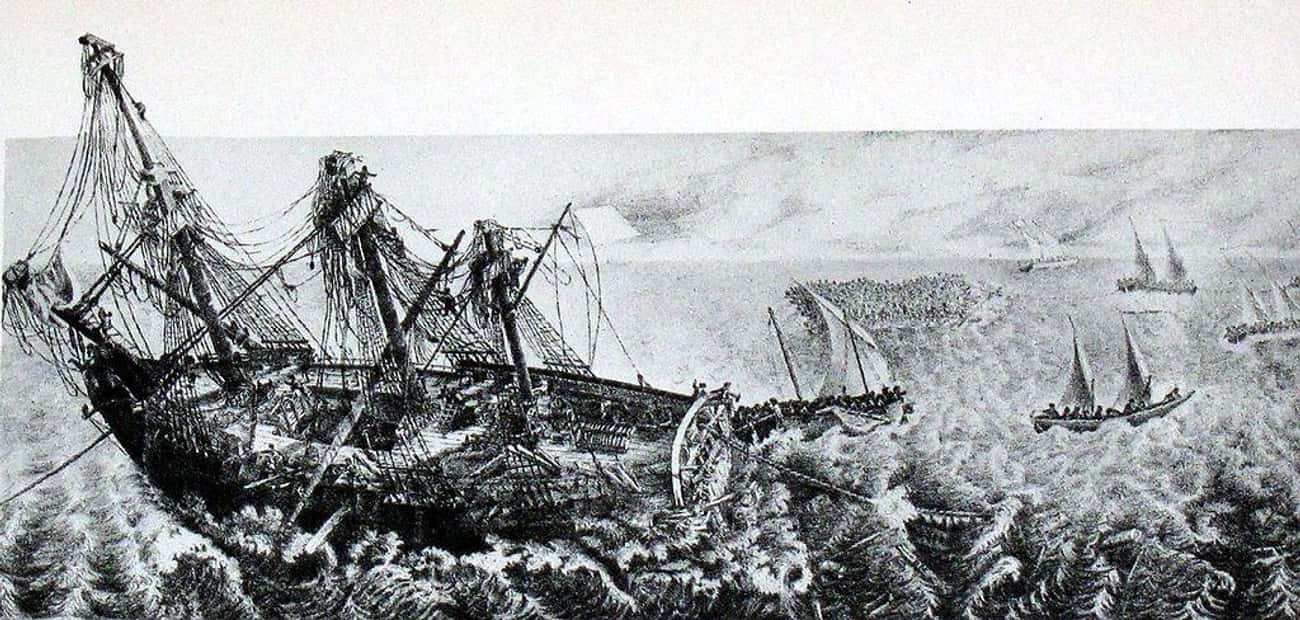 The Shipwrecked Crew Of The Méduse