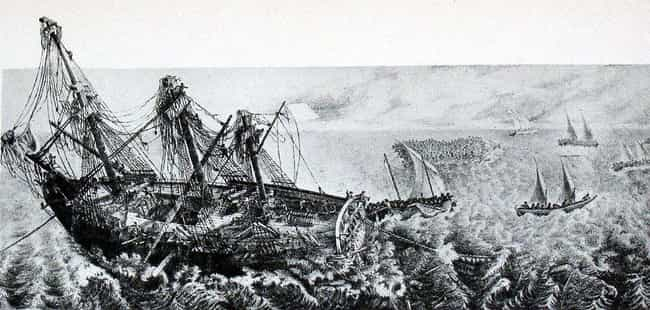 The Shipwrecked Crew of the Mé... is listed (or ranked) 1 on the list 9 Shipwrecks Throughout History That Ended in Cannibalism