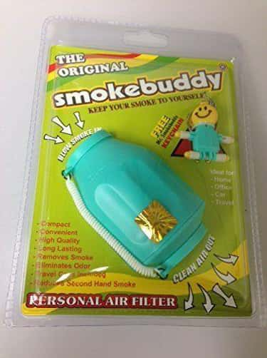 Blow Smoke Directly Into A Fil is listed (or ranked) 1 on the list All The Genius Ways To Hide The Dank Smell of Weed