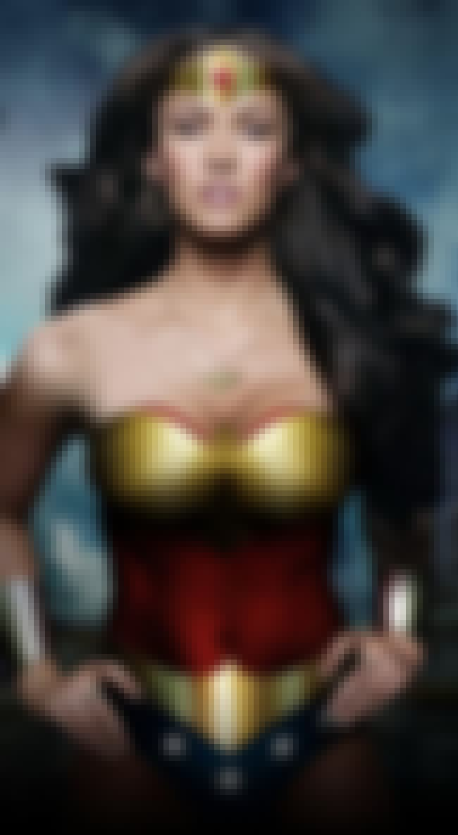 Megan Fox Looking Wondrous is listed (or ranked) 3 on the list 26 Celebrities Who Look Super Hot As Wonder Woman
