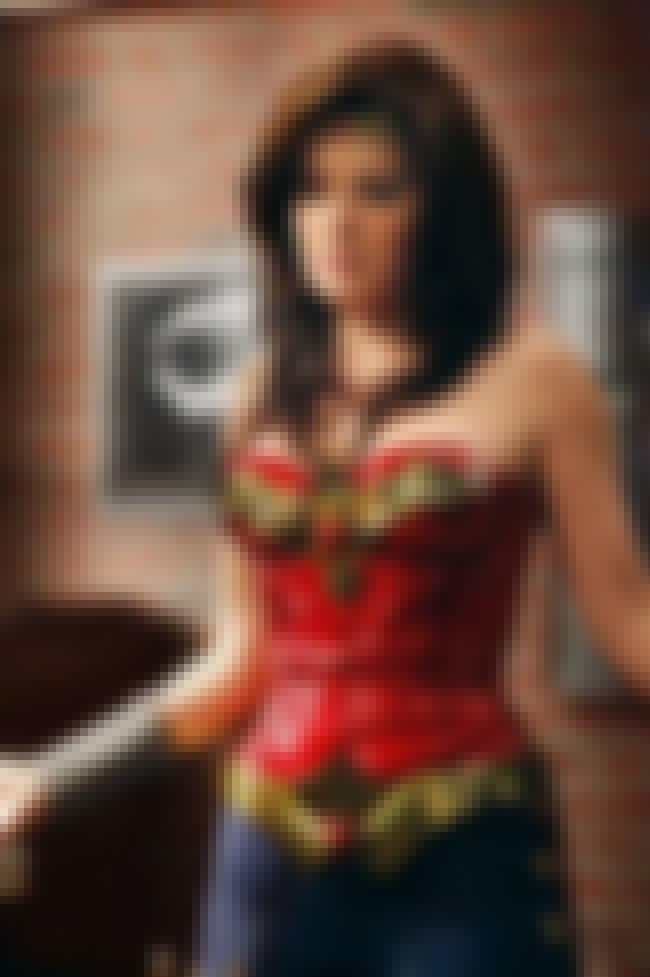 Erica Durance Rocks Her Wonder... is listed (or ranked) 2 on the list 26 Celebrities Who Look Super Hot As Wonder Woman