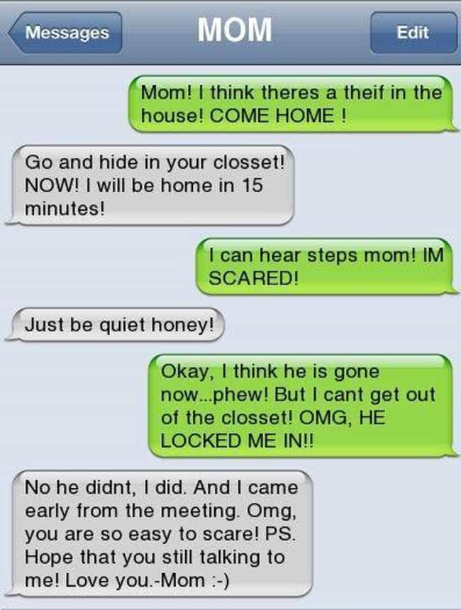 28 Parents Who Expertly Trolled Their Kids Over Text