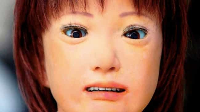 """""""Please... Kill... ... is listed (or ranked) 4 on the list 24 Seriously Disturbing Human Creations from the Uncanny Valley"""
