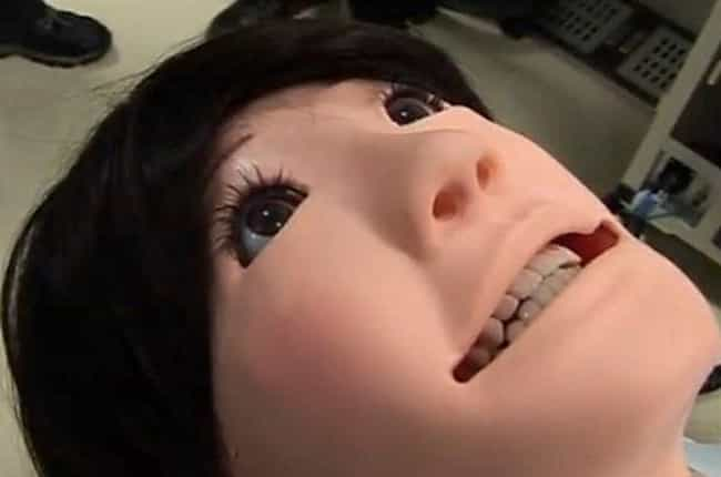 Dentistry Training Head or Rob... is listed (or ranked) 1 on the list 24 Seriously Disturbing Human Creations from the Uncanny Valley