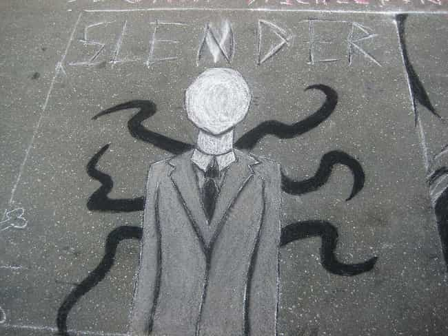 The Slenderman Stabbings... is listed (or ranked) 1 on the list 14 Horrifying Real Crimes and Deaths Inspired by Creepypasta Stories