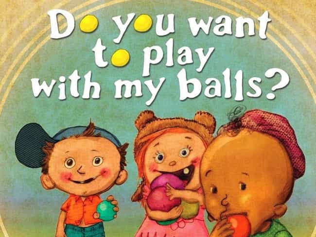 21 Children S Books With Seriously Inappropriate Names