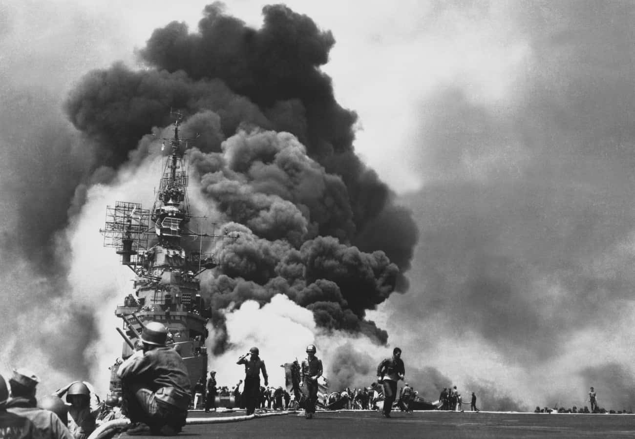 Japanese Soldiers Were Taught  is listed (or ranked) 2 on the list 11 Fascinating Details About The Lives Of Kamikaze Pilots
