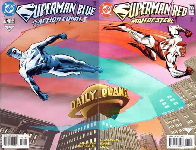 Superman Red and Superma... is listed (or ranked) 2 on the list Why the '90s Were Terrible for Comics