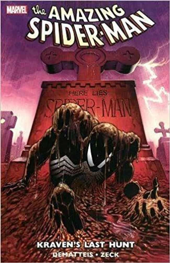 Spider-Man Vs. Kraven The Hunt... is listed (or ranked) 3 on the list Times Spider-Man Was Defeated In Over-The-Top Fashion