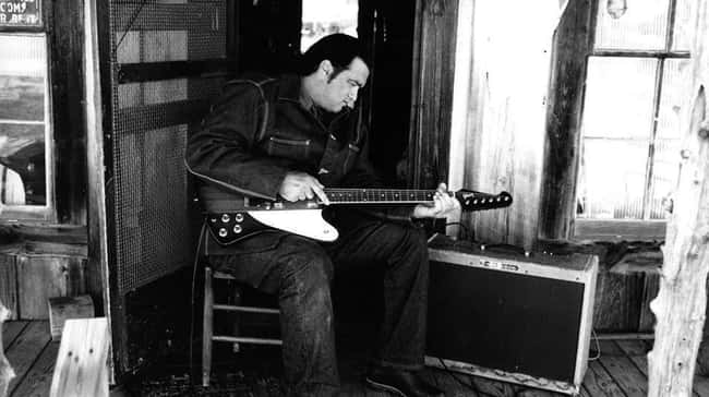 His Music Is Terrible, His Lyr is listed (or ranked) 9 on the list 18 Ludicrous Stories About Steven Seagal