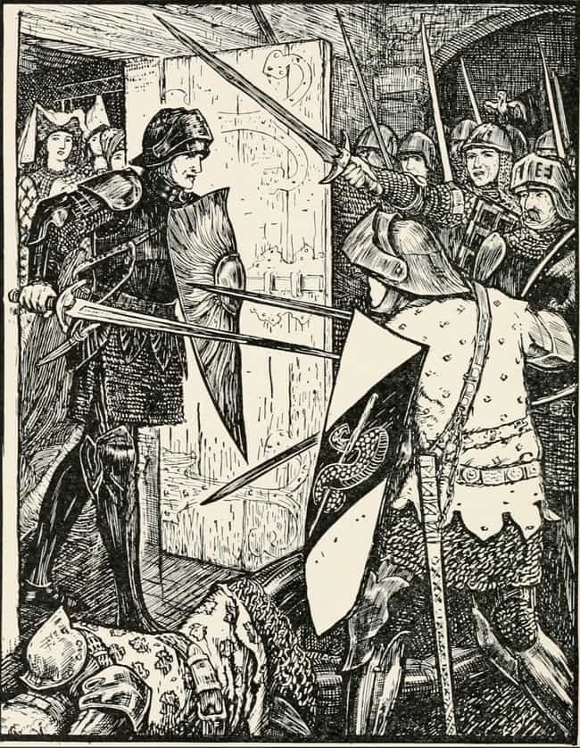 Arthur Attempts To Slay ... is listed (or ranked) 3 on the list 15 Bizarre & Surprisingly Brutal Stories You Never Knew About King Arthur