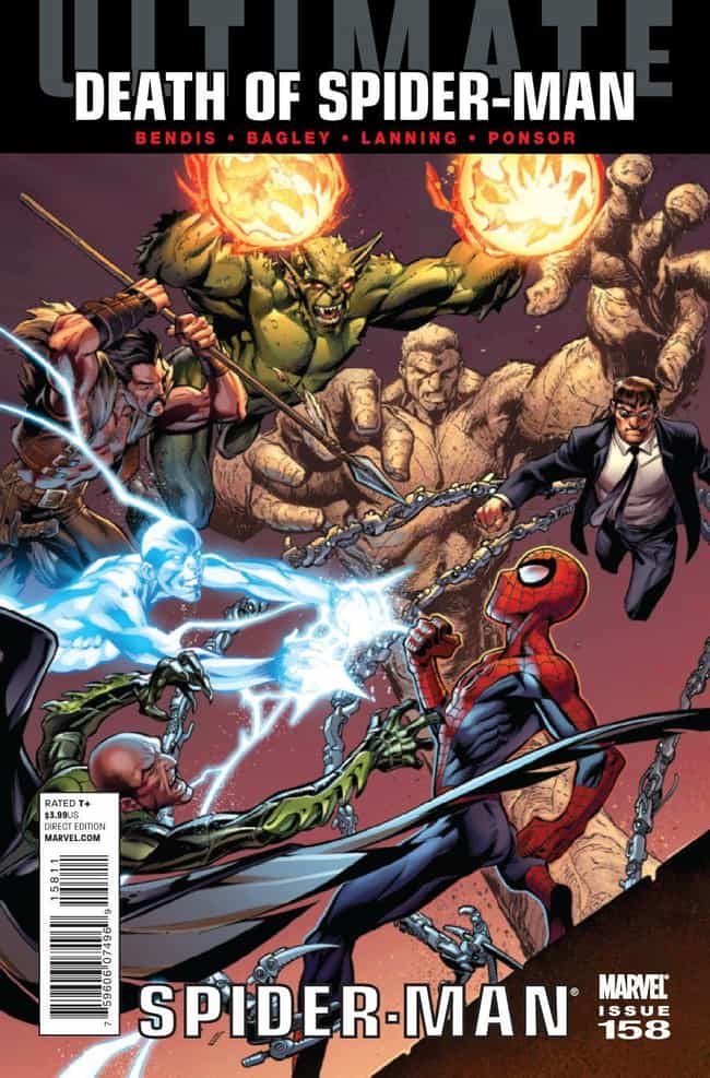 Spider-Man Vs. The Green... is listed (or ranked) 4 on the list Times Spider-Man Was Defeated In Over-The-Top Fashion