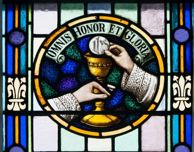Transubstantiation Means That ... is listed (or ranked) 1 on the list The Most Mind-Bending Things Catholics Believe