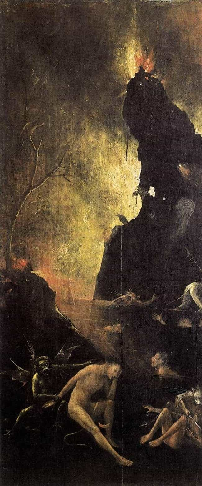 Hell is listed (or ranked) 2 on the list 12 Insanely Disturbing Hieronymus Bosch Paintings That Will Overload Your Mind
