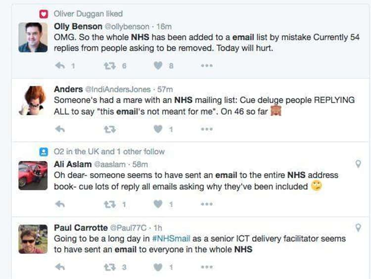 Britain's National Health Service Gummed Up By Nearly 200m Emails