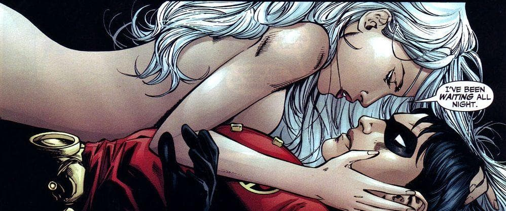 Teen Titans sex scene