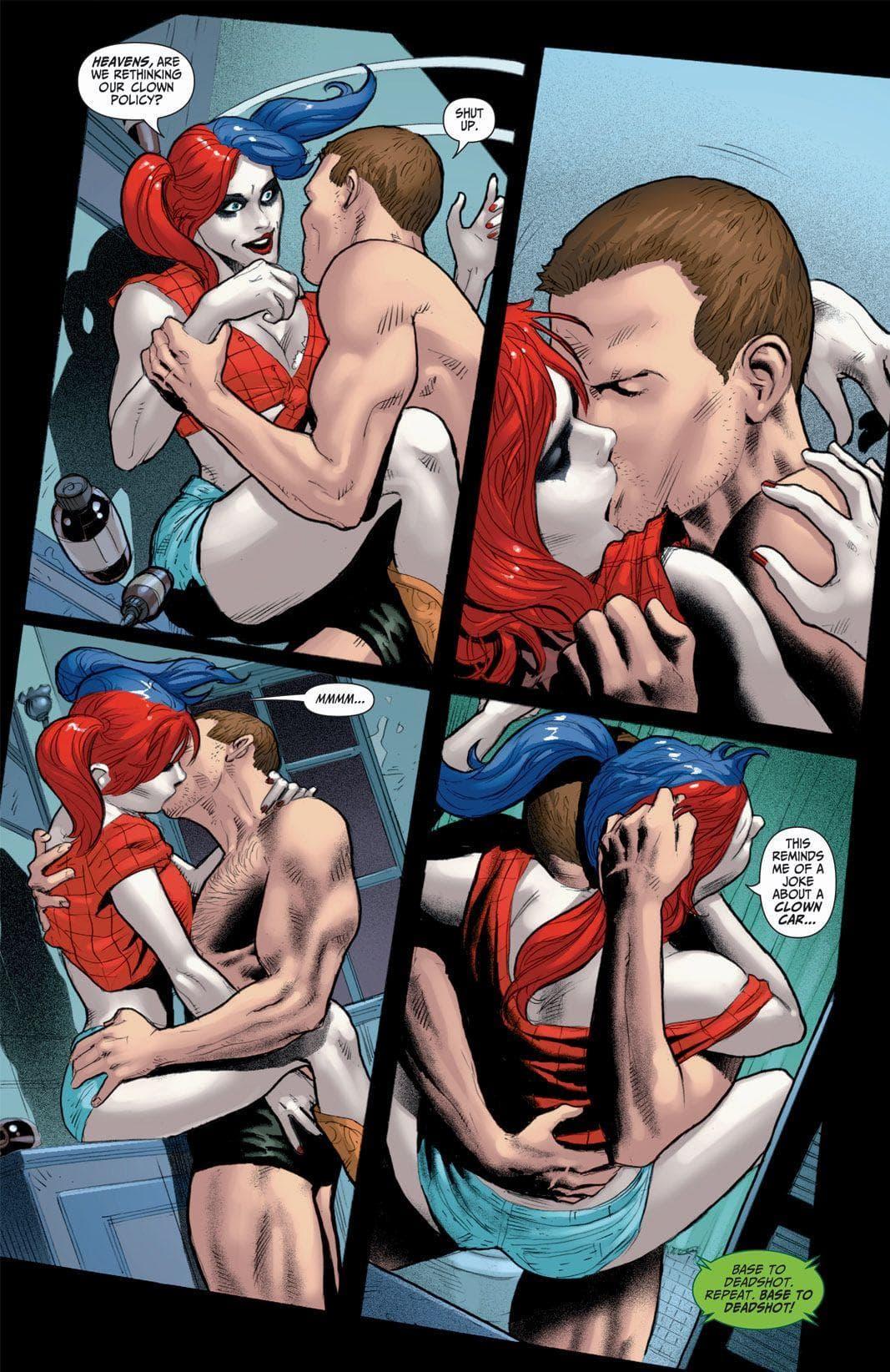 DC κόμικς πορνό κόμικς