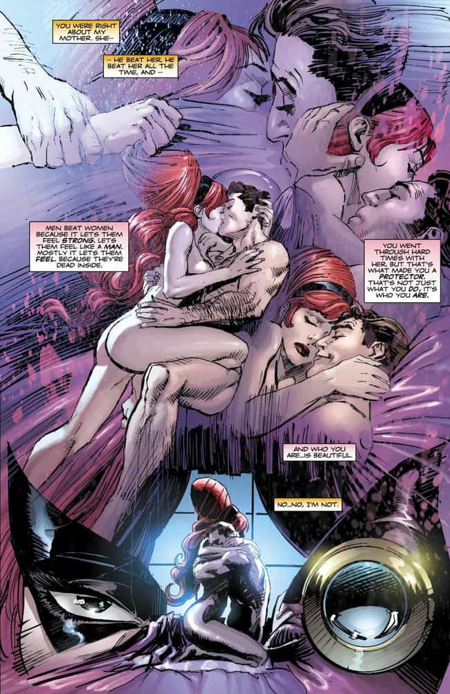 Twilight Lady And Nite Owl In ... is listed (or ranked) 3 on the list The Most Graphic Sex Scenes in DC Comics History