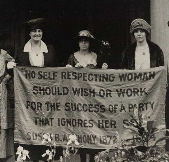 The First Wave: Suffrage... is listed (or ranked) 4 on the list The Fascinating Evolution Of Feminist Waves Throughout History
