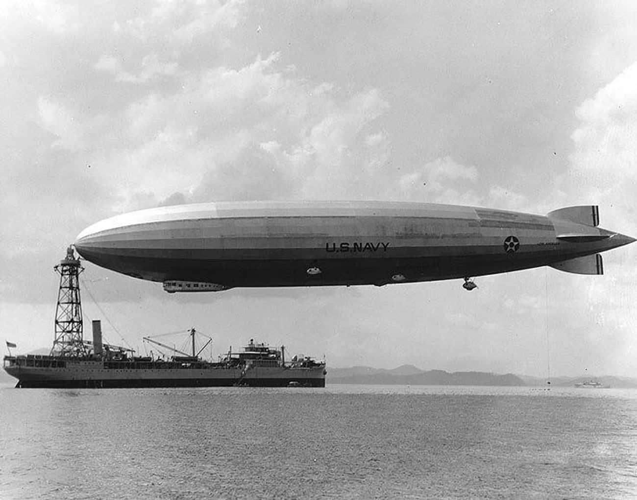 Zeppelins Were a Normal Thing to See in the Sky
