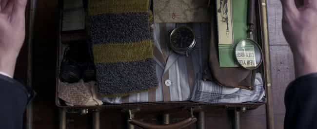 Newt's Hufflepuff Scarf - ... is listed (or ranked) 1 on the list All the References to Harry Potter in Fantastic Beasts You Definitely Missed