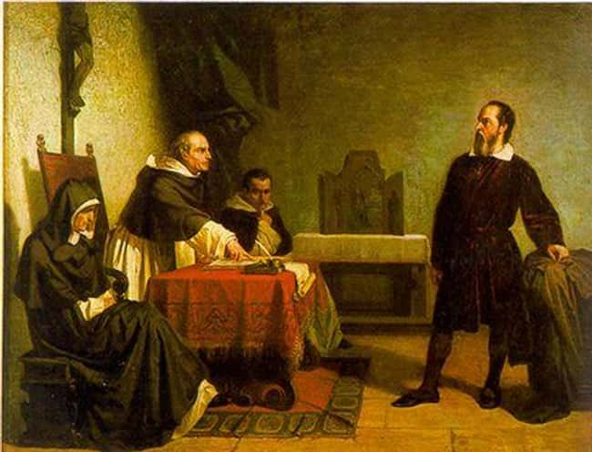 Imprisoning Galileo In His Hom is listed (or ranked) 14 on the list 15 Of The Most Absurd And Unforgivable Things The Catholic Church Has Ever Done