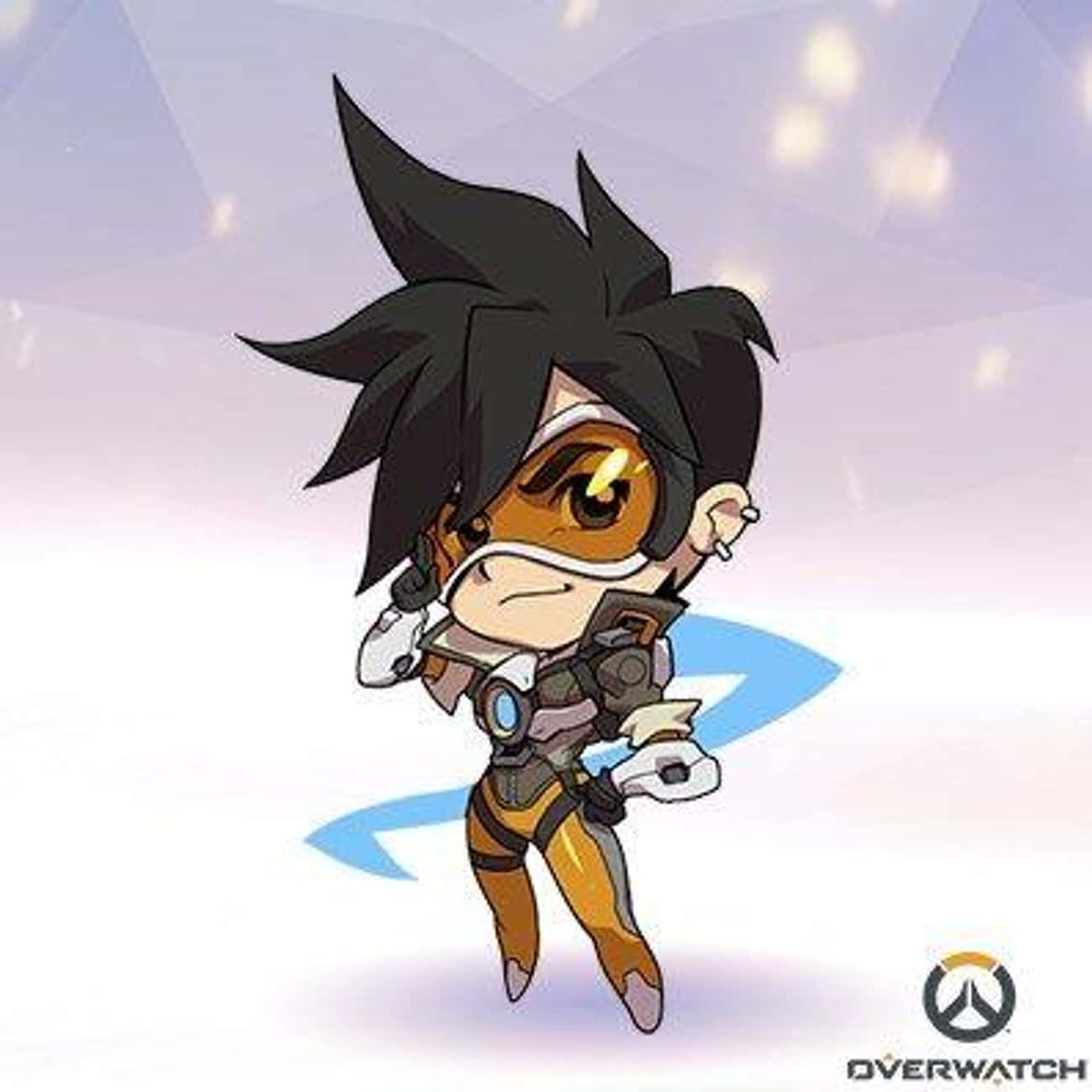 Tracer is listed (or ranked) 4 on the list Overwatch Heroines You'd Want to Have a Romantic Dinner With